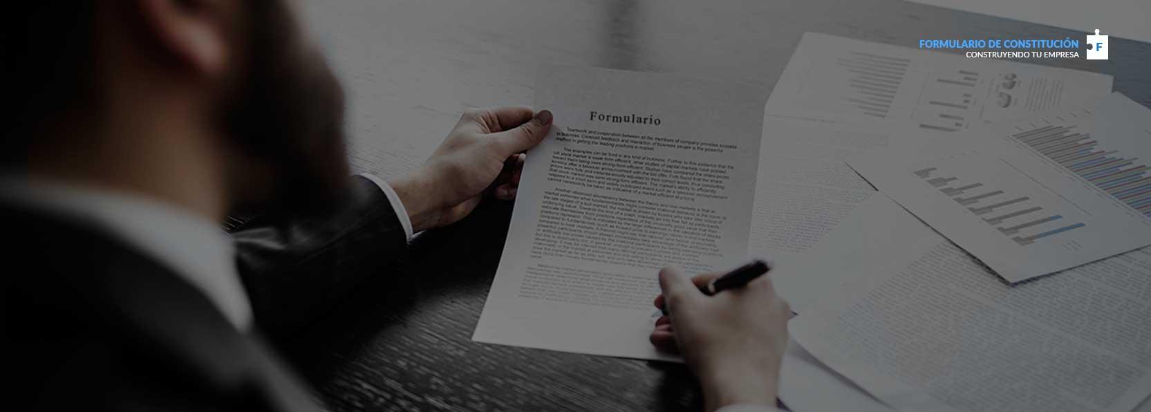 formulario de constitucion, construyendo tu empresa